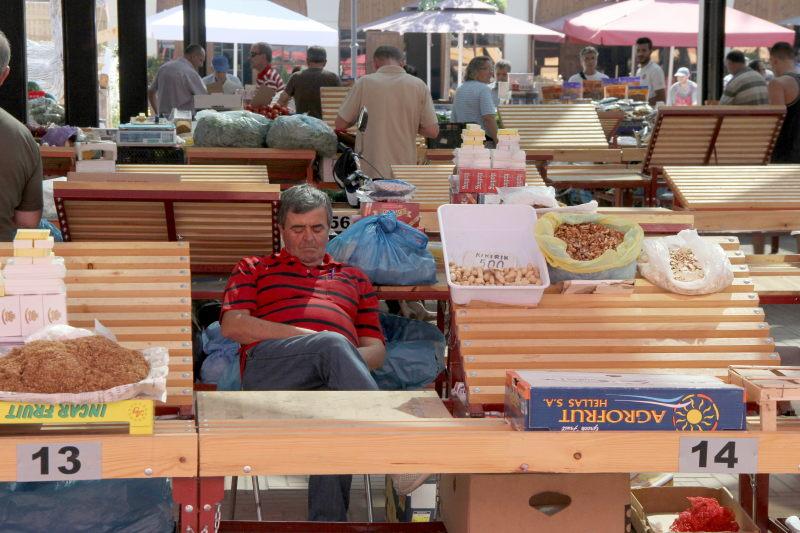 Markt in Tirana