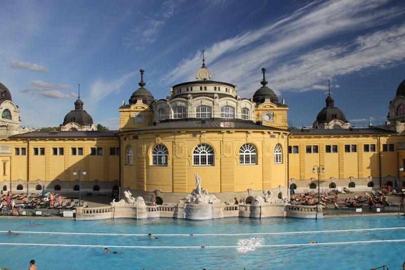 Budapest: Szechenyi Thermalbad