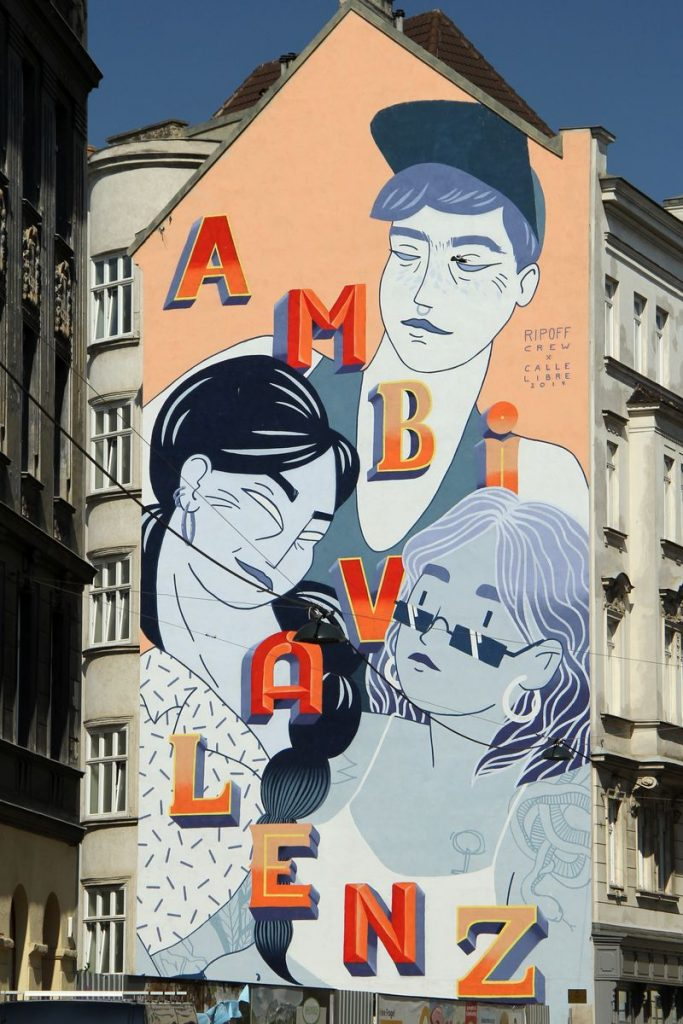 Grafito in Wien