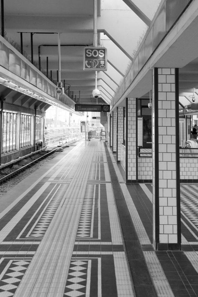 Stadtbahnstation in Wien